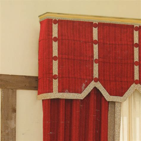 cheap red curtains chenille fabric valance cheap red curtains no valance