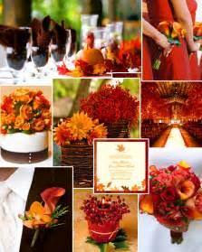 Orange Color Theme by Wedding By Designs Wedding Color Combinations Color