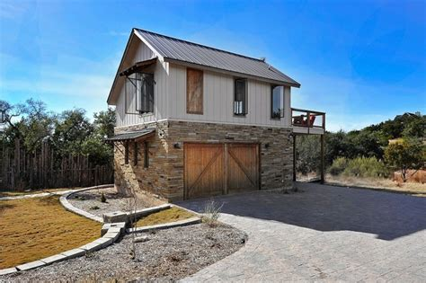 Hill Country Guest House Contemporary Exterior Hill Country Guest House Plans