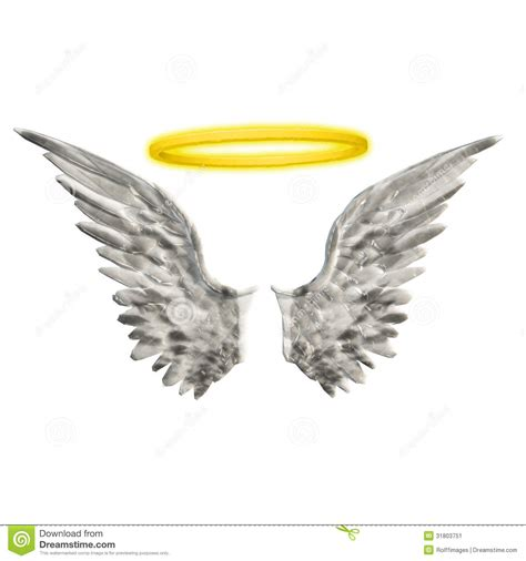 halo and angel wing clipart clipart suggest