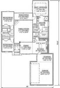 2 Master Bedroom House Plans by 653374 3 Bedroom 2 Bath Split Plan With Incredible