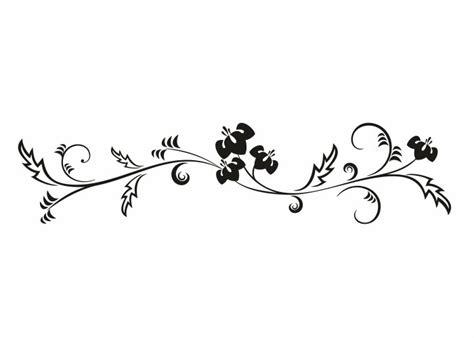 Blumenmuster Vorlagen Wandtattoo Blumen Ornament Pflanzen Wandtattoos Wandschablonen Wandtattooladen De