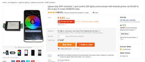 aliexpress hack chaozlabs esp8266 in the wild wifi led controller hack