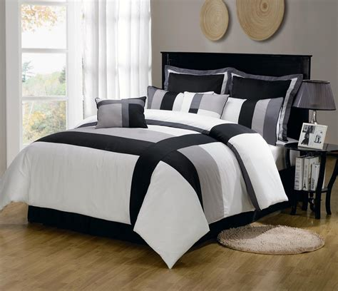 grey comforters full bone collector black u0026 grey