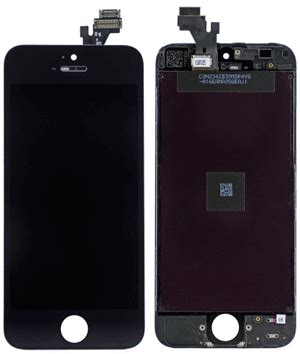 Lcd Iphone 5 Di Itc buy replacement iphone 5 lcd frame in black phone parts