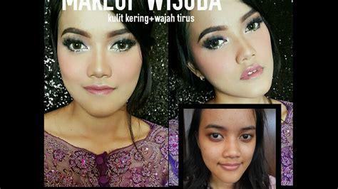 tutorial berhijab buat wisuda tutorial makeup wisuda kulit kering wajah tirus