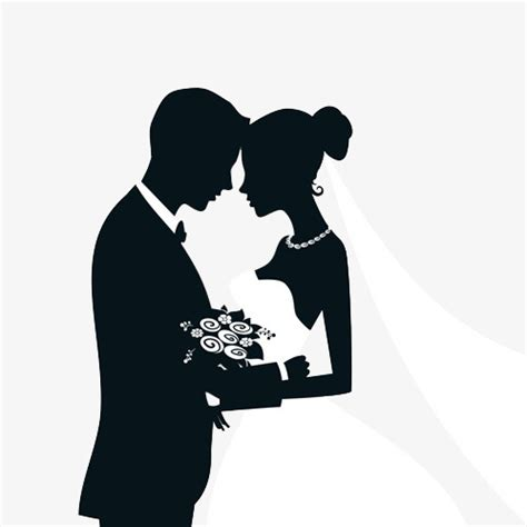 matrimonio clipart silhouette marriage marriage clipart black sketch png