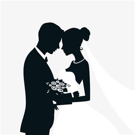 clipart matrimonio gratis silueta matrimonio black sketch casarse con imagen