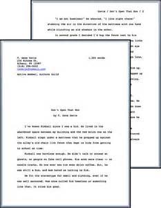 book manuscript format template standard manuscript format t gene davis s speculative