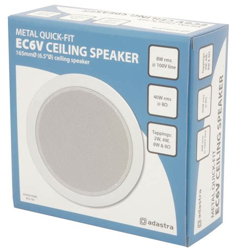 Office Ceiling Speakers by Adastra Fit Ceiling Speakers Ec6v 6 5 Quot Office