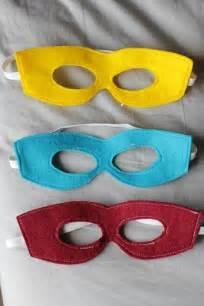 Printable super hero mask tutorial template pattern vanilla joy