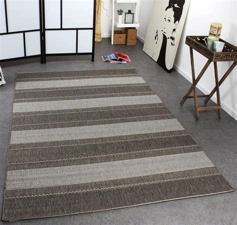 teppich grau weiß gestreift teppich sisal optik streifen grau design teppiche