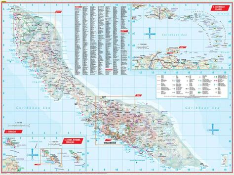 printable curacao road map maps road maps atlases curacao