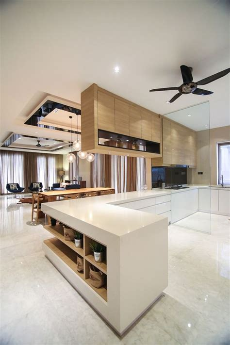 wet kitchen cabinet open dry and wet kitchen spaces combines a mix of light