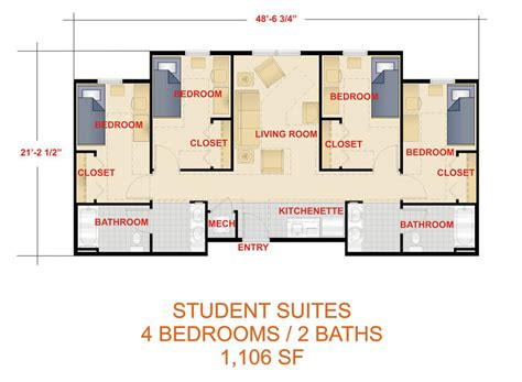 student housing floor plans laker hall clayton state university