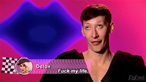 Detox Rupaul Gif by Working Out Rupauls Drag Race Gif Find On Giphy