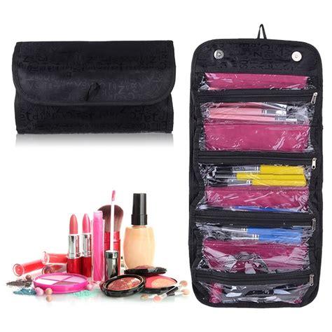 Hanging Toiletries Bag Organizer Portable Hanging Travel Cosmetic Bag Makeup Pouch Toiletry Organizer Ebay