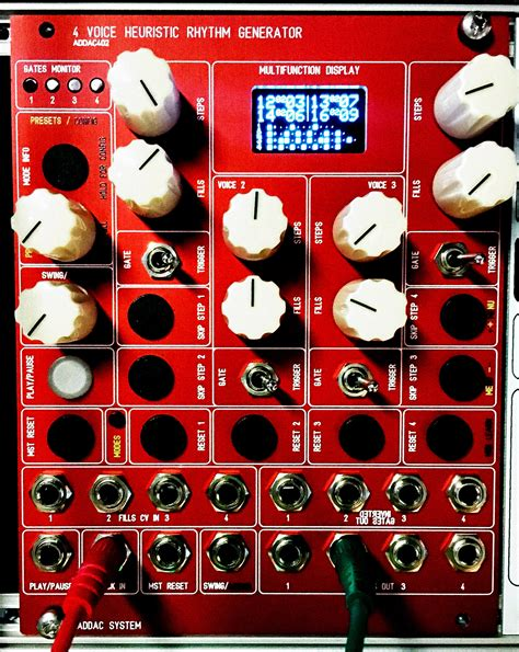 drum rhythm generator addac402 heuristic rhythm generator cymru beats