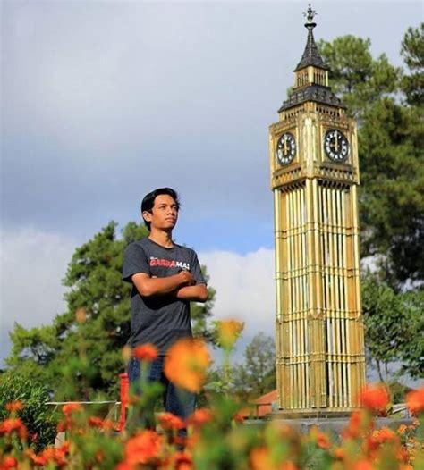 Miniatur Jam Big Ben Oleh Oleh Negara Inggris 11 wahana the world landmarks merapi park jogja wisata terbaru yogya
