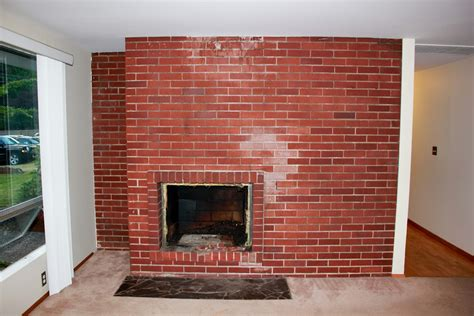 Paint Brick Fireplace by Kirsten Sessions Photography New House Project