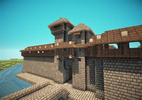 Minecraft Castle Door by Minecraft Castle Gate