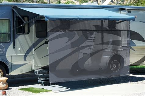 rv shade awning shadepro inc vista shade for electric rv awnings cer