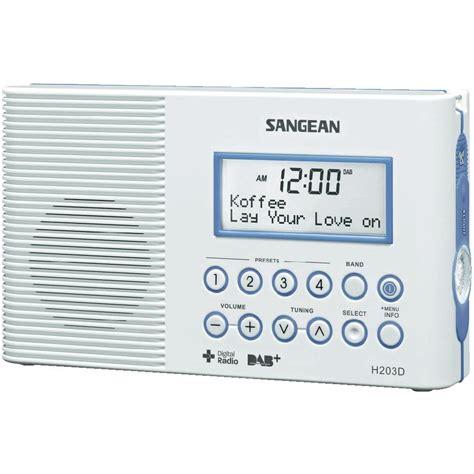 Sangean Bathroom Radio Dab Bathroom Radio Sangean H 203d Dab Fm Torch