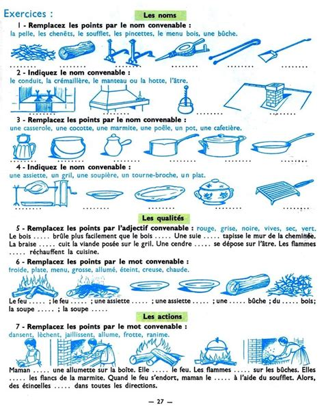 lexique de cuisine 141 best images about lexique fle on search