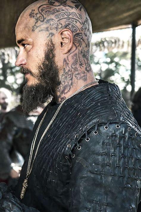 viking tattoo mann mit langem bart kopf t 228 towieren