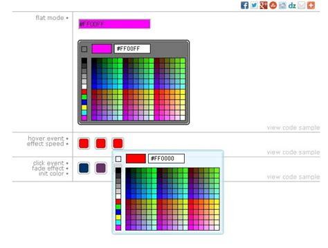 color picker js 28 images 11 javascript color pickers plugins responsive touch friendly