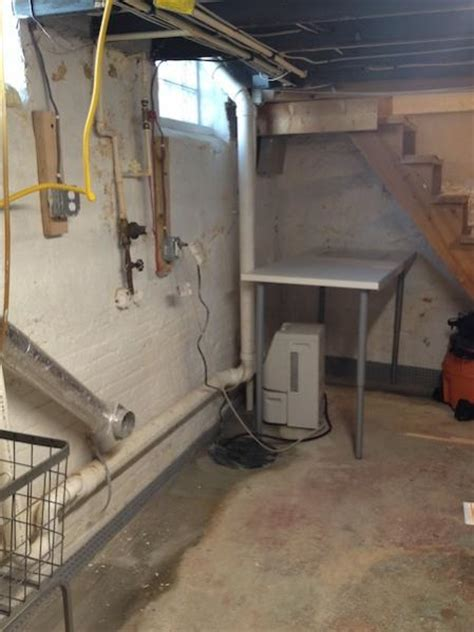 reducing humidity in a utility basement doityourself