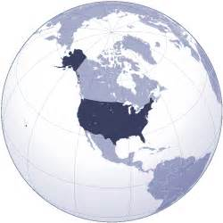 usa map in globe usa map world