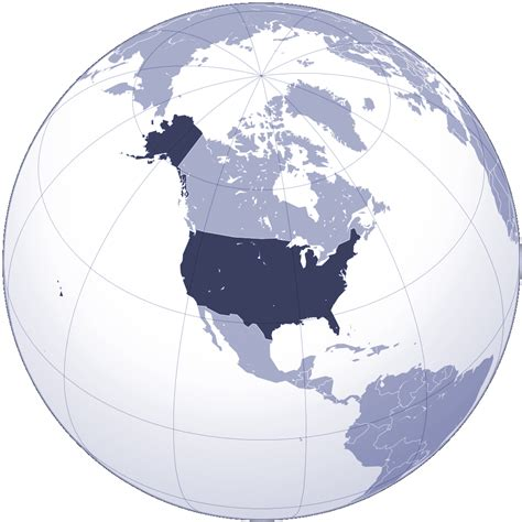 where is usa on the world map the united states location on world map location of the