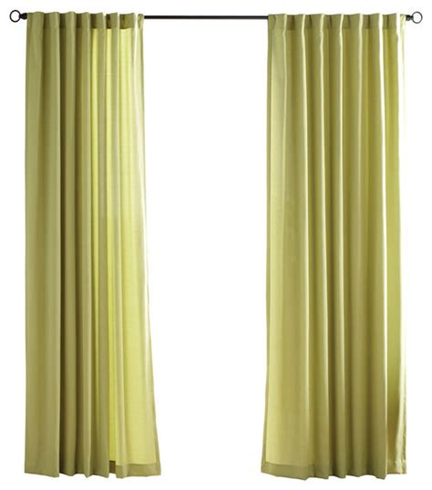 canvas curtains outdoor solaris kiwi canvas solid outdoor window curtain panel
