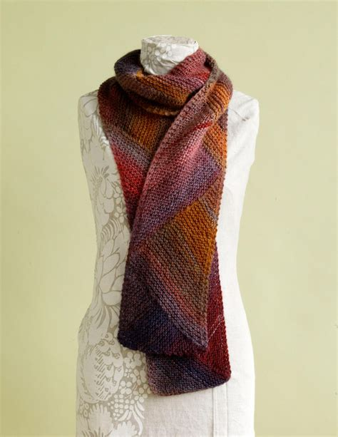 knitting project kits directional colors scarf kit on craftsy supplies