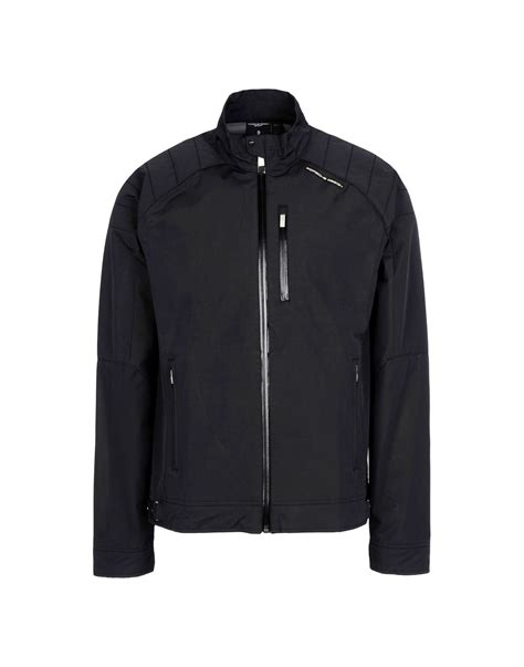 porsche design clothes uk lyst porsche design jacket in black for men