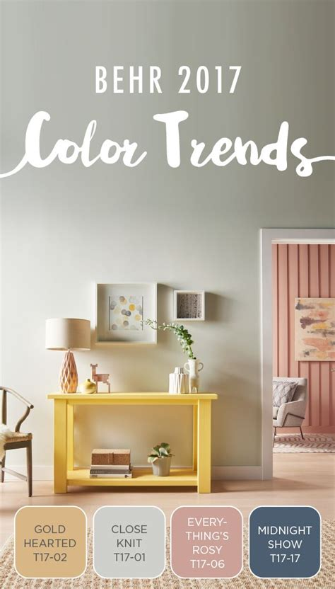 behr paint colors 2017 81 best behr 2017 color trends images on pinterest