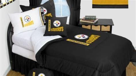 Steelers Bedding Set Pittsburgh Steelers Bedding Nfl Comforter And Sheet Set Combo Findgift
