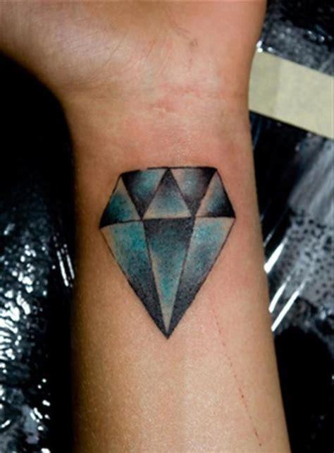 blue diamond tattoo 56 fantastic wrist tattoos