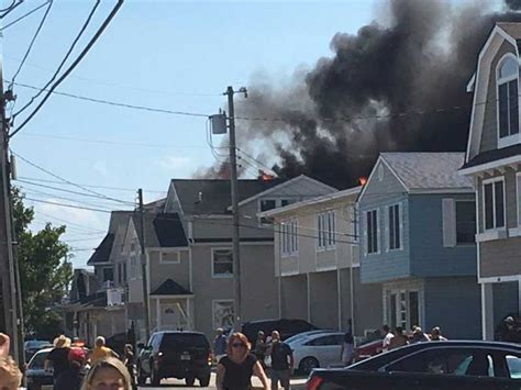 house in wildwood nj 3 alarm damages 2 homes in wildwood crest 171 cbs philly