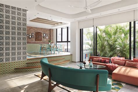 bold colours  prints   peranakan inspired home