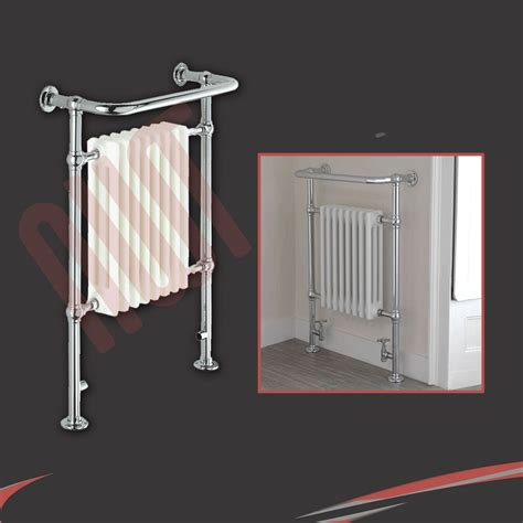 Radiator Towel Rack Designer Heated Towel Rail Chrome Bathroom Towel Warmers