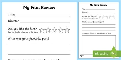 pattern writing movie review film review writing frame film review film review writing
