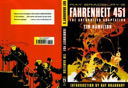 fahrenheit 451 graphic novel review of fahrenheit 451 the authorized adaptation by