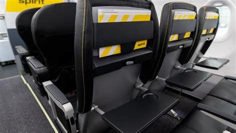 spirit airlines unveils revamped plane interiors travelpulse