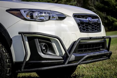 subaru crosstrek grill guard lp aventure big bumper guard 2018 crosstrek lp