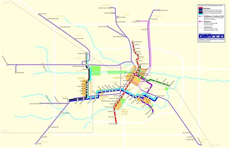 houston light rail map the light rail map update metro didn t announce swlot