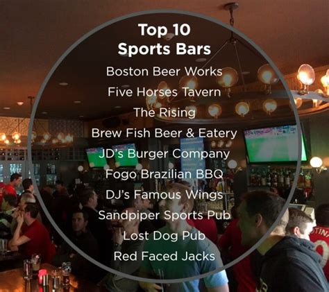 top 10 sports bar top 10 sports bars from cambridge to cape cod robert paul properties