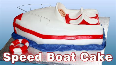 speed boat cake pan how to make a speed boat cake happyfoods youtube
