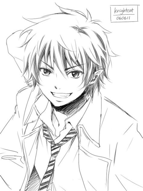 anime boy easy to draw easy anime boy drawing at getdrawings free for
